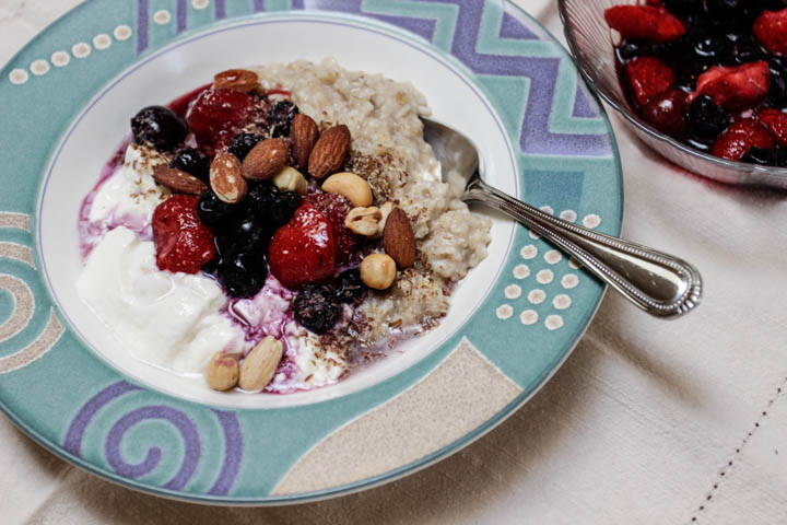 oats and quinoa hot cereal