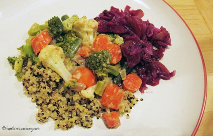 Broccoli Cauliflower Veggie Divan