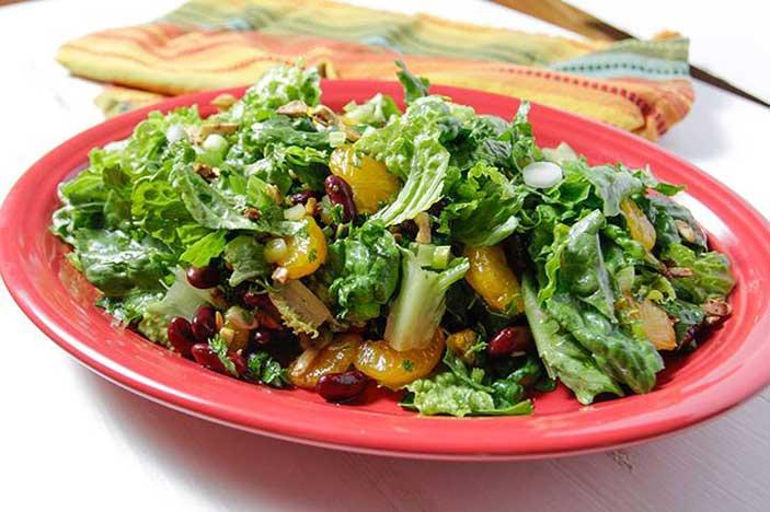 Orange-Almond-Salad
