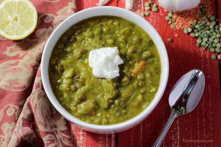 Split Pea Lentil Soup