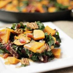 Swiss Chard Sweet Potatoes