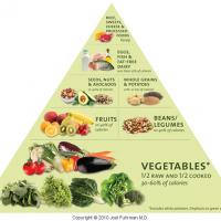 Dr. Fuhrman's Food Pyramid
