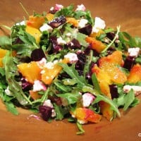 Arugula, Orange, and Beet Salad