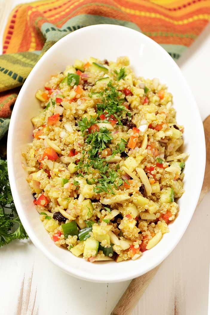 Quinoa Salad with Mango-