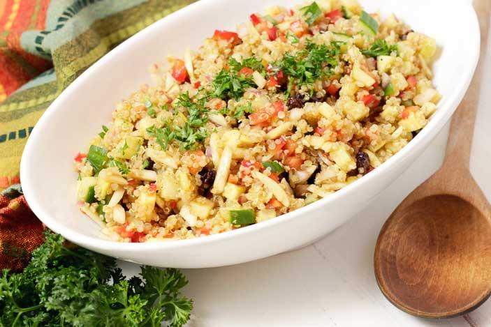 Quinoa Salad with Mango Chutney