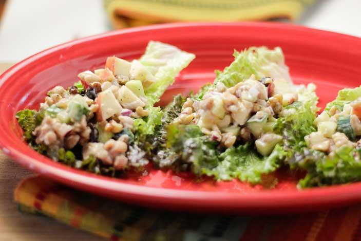 Tempeh-Lettuce-Wraps