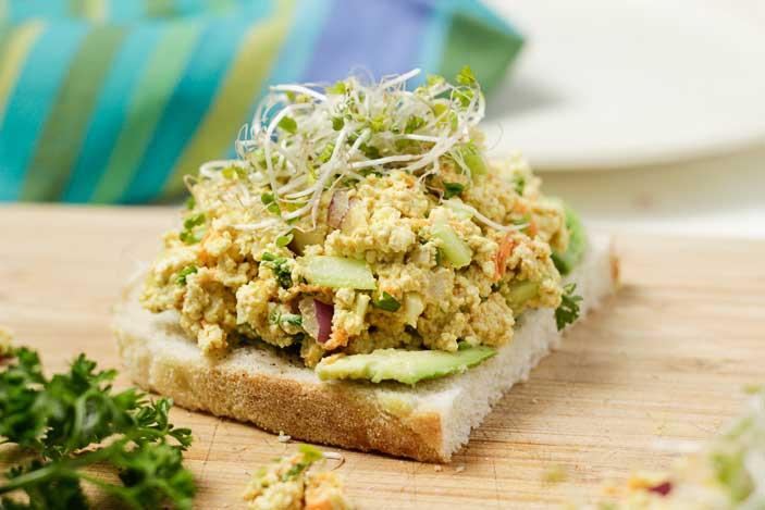 Tofu-Egg-Salad