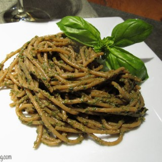 Pasta with Pesto (No Added Oil)