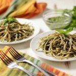 Pasta with Oil-Free Pesto