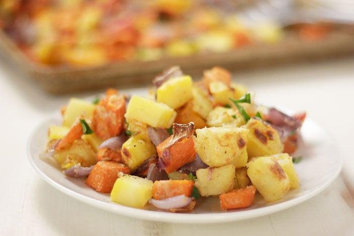 Oil-Free Roasted Potatoes