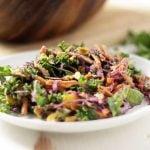 Kale Salad with Oranges