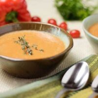 Tomato Pepper Bisque