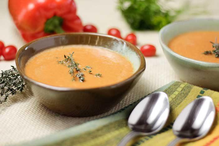 Tomato Pepper Bisque