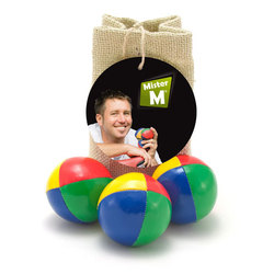 Mister M Juggling Balls