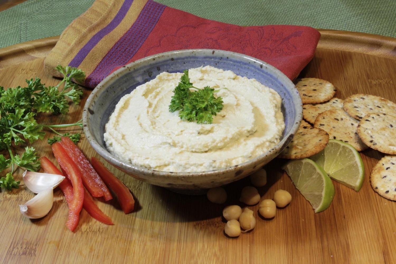 Low Fat Hummus Dip 14
