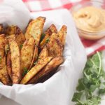 Potato Wedges ChipotleSauce