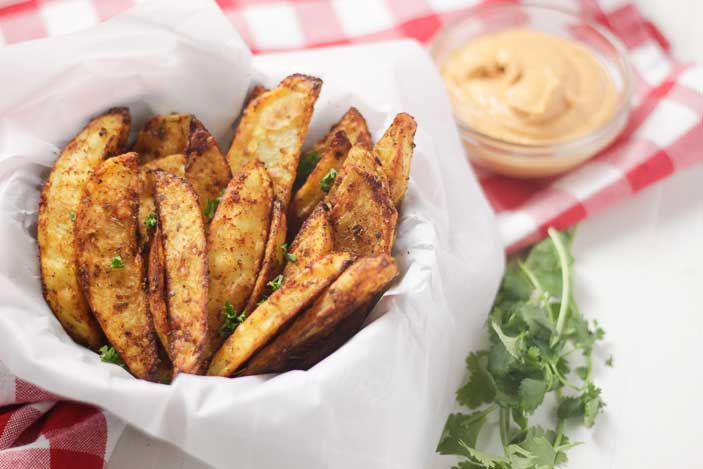 Potato Wedges ChipotleSauce
