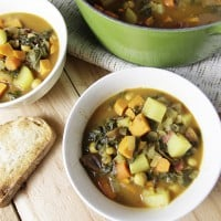Moroccan Stew with Kale