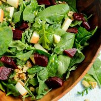Arugula Apple Beet Salad