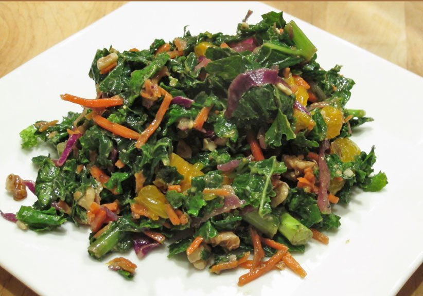 Kale Salad with Oranges