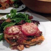 Sweet Potato Veggie Lasagna