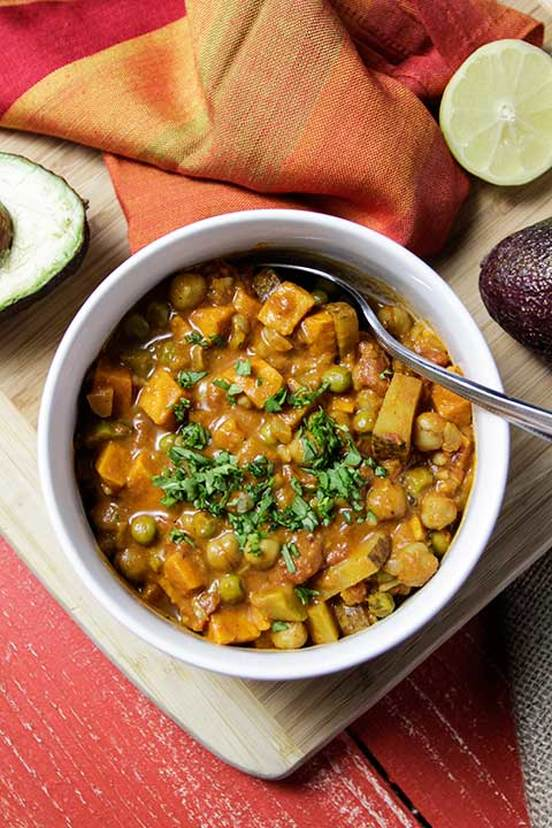 Chana Masala with Chickpea