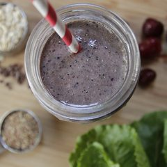 Cherry Chocolate Smoothie
