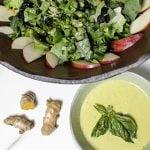 Romain Salad with Kale