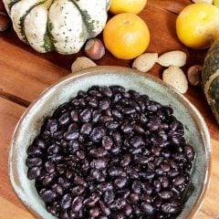 Pressure Cooker Black Beans