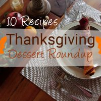 Thanksgiving Dessert Roundup