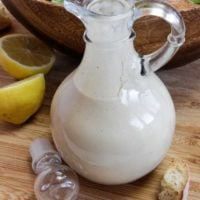 Oil-Free Caesar Dressing