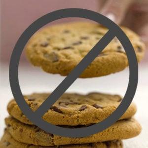 No symbol over Cookies