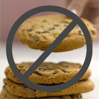 No symbol over Cookies