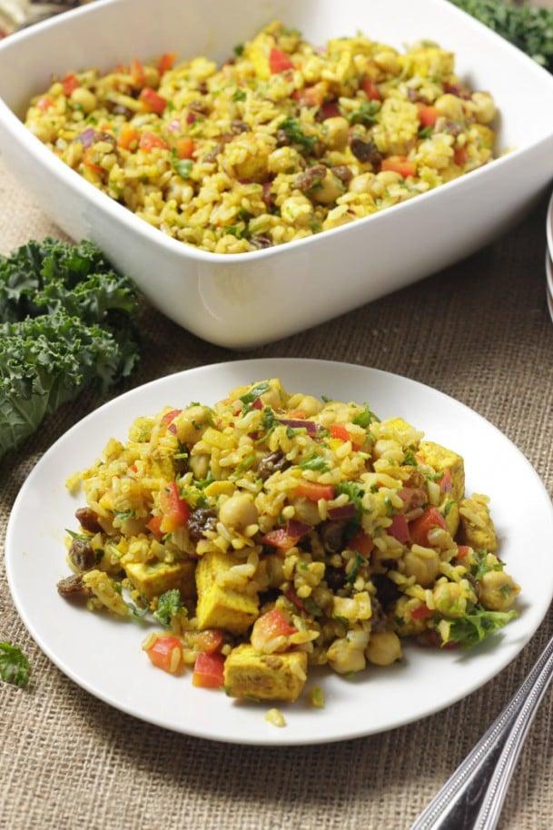Curry Rice Salad
