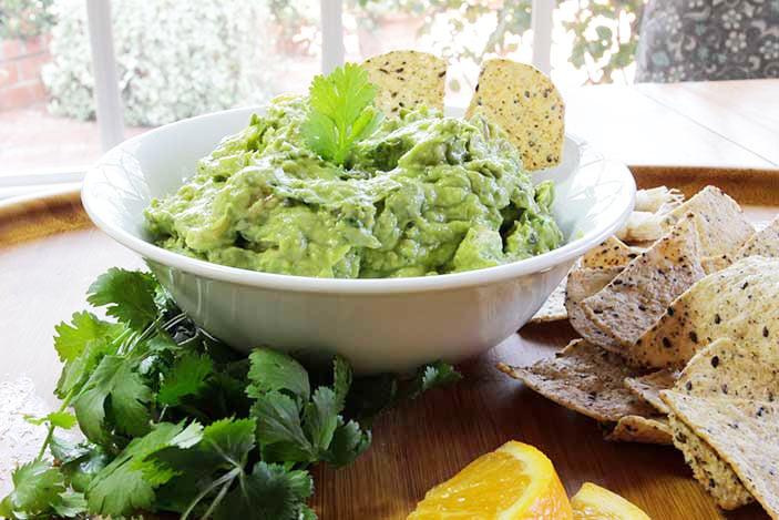 Kale Citrus Guacamole