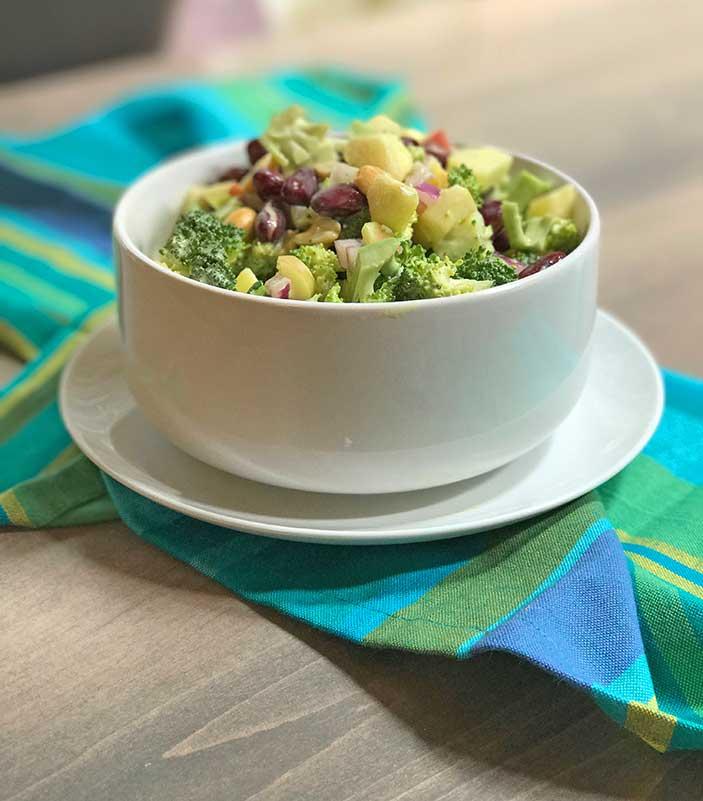 Broccoli-Waldorf-Salad