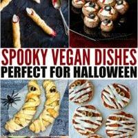 Spooky Vegan Recipe Roundup