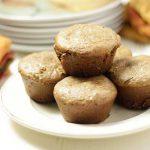 Banana Chip Almond Muffins