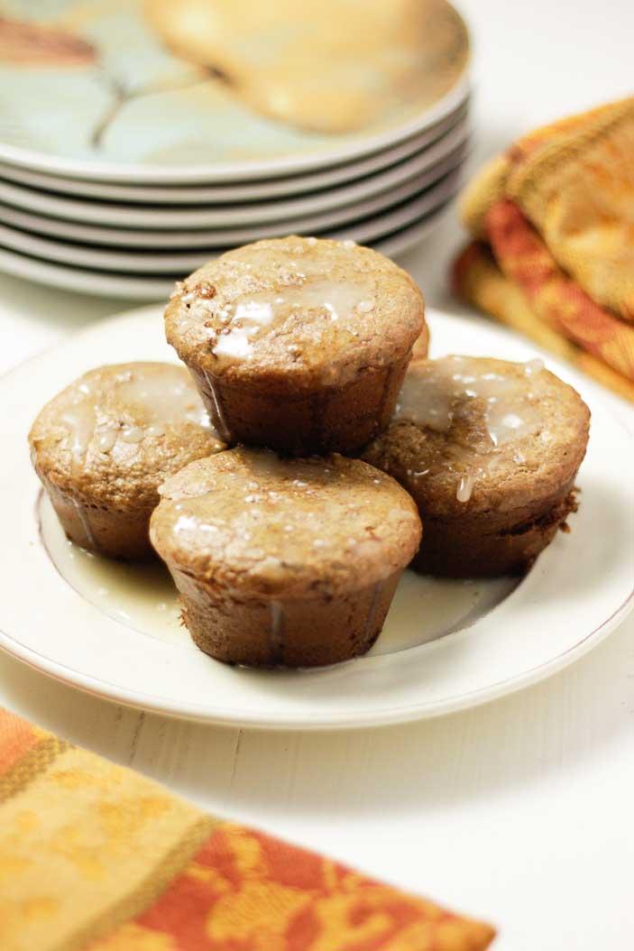 Banana Chip-Almond Muffins