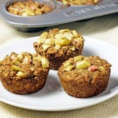Chia Spice Apple Muffins