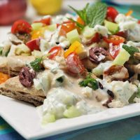 Ultimate Greek Nachos