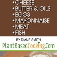 Plant Based Substitutions
