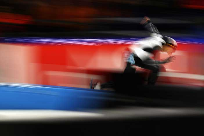 Athletic Skater