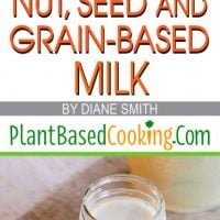 How to Make Delicious Homemade Nut, Seed and Grain-Based Milk Article