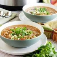 Mushroom Bean Soup