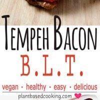 Tempeh Bacon BLT