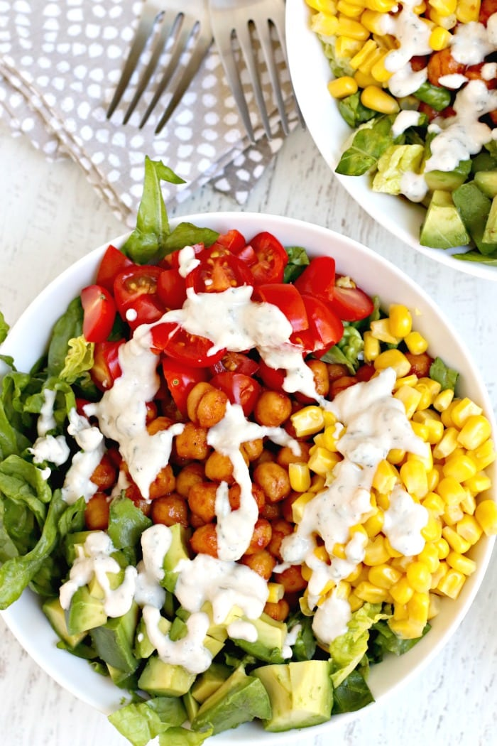 BBQ-Ranch-Chickpea-Salad