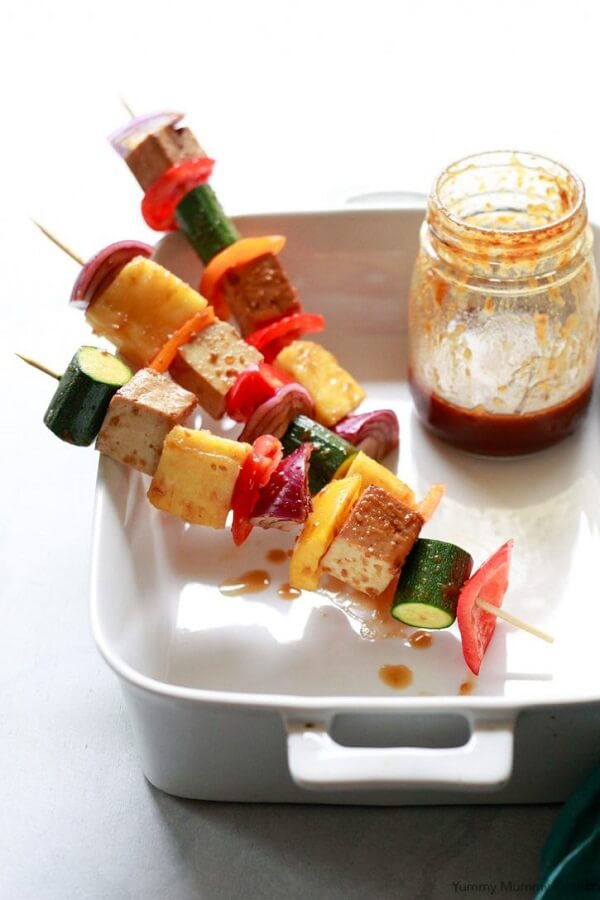 vegetable kabobs