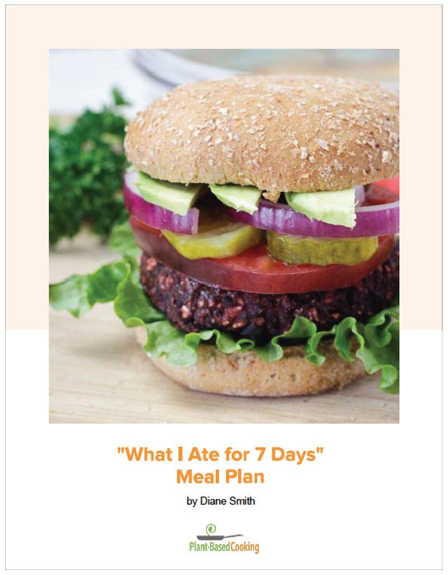 What I Ate for 7 days Meal Plan Cover