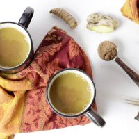 Turmeric Ginger Hot Cocoa